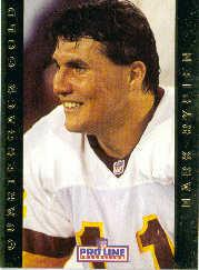 1992 Pro Line Portraits QB Gold #16 Mark Rypien