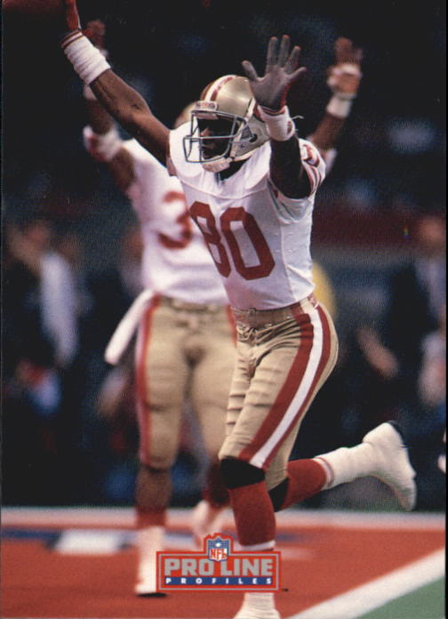 1992 Pro Line Profiles #53 Jerry Rice