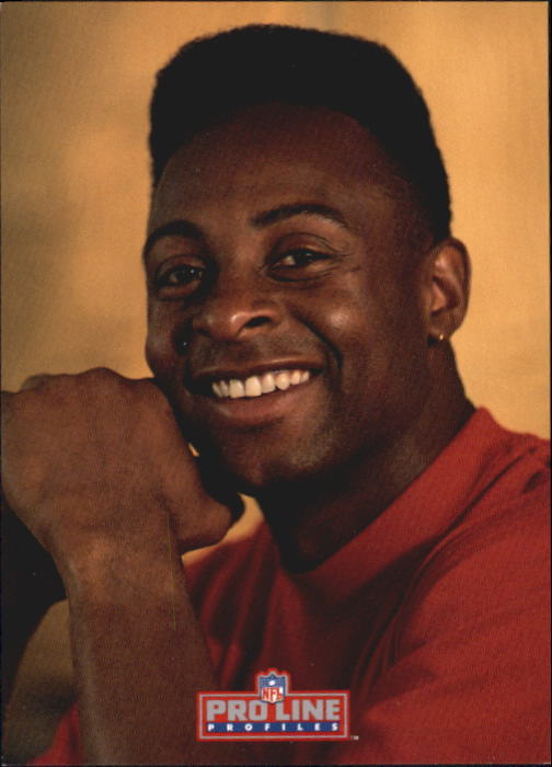 1992 Pro Line Profiles #54 Jerry Rice