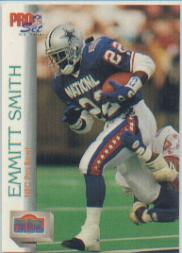1992 Pro Set #425 Emmitt Smith PB