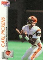 1992 Pro Set #461 Carl Pickens RC