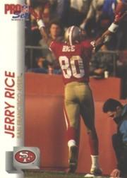 1992 Pro Set #651 Jerry Rice
