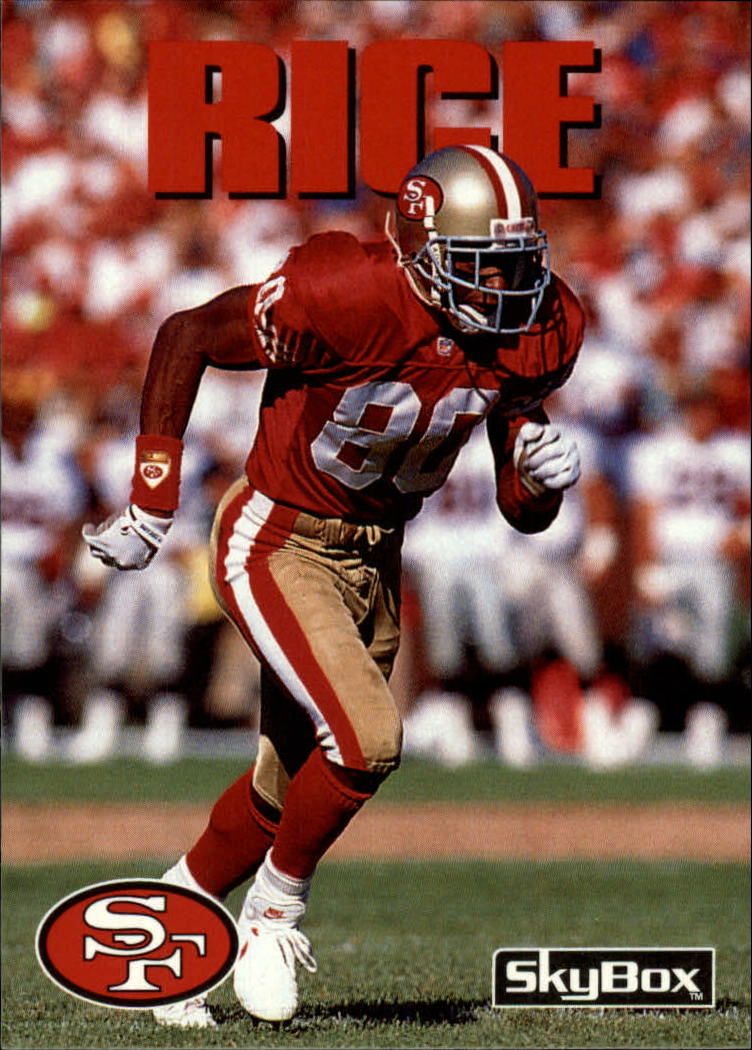 1992 SkyBox Impact #25 Jerry Rice