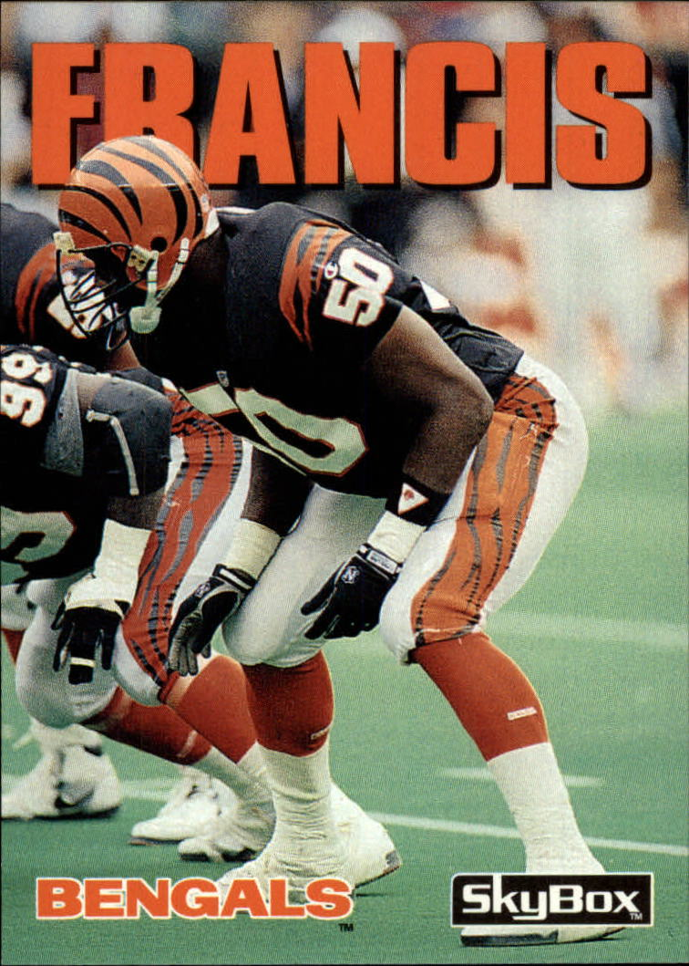 1992 SkyBox Impact #44 James Francis