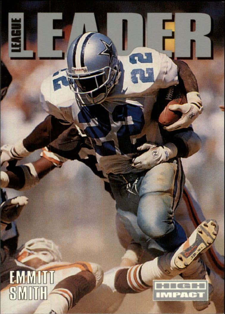 1992 SkyBox Impact #308 Emmitt Smith LL