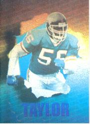 1992 SkyBox Impact Holograms #H2 Lawrence Taylor