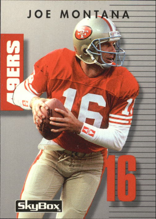 1992 SkyBox Prime Time #16 Joe Montana