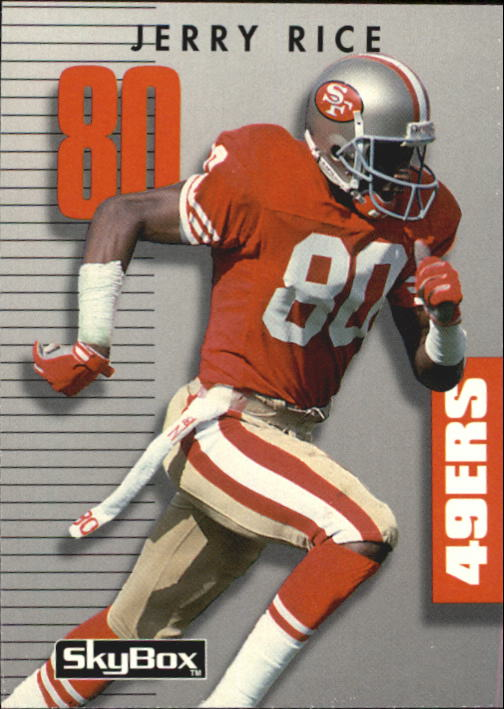 1992 SkyBox Prime Time #80 Jerry Rice