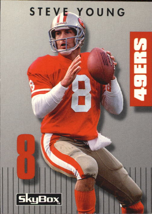 1992 SkyBox Prime Time #99 Steve Young
