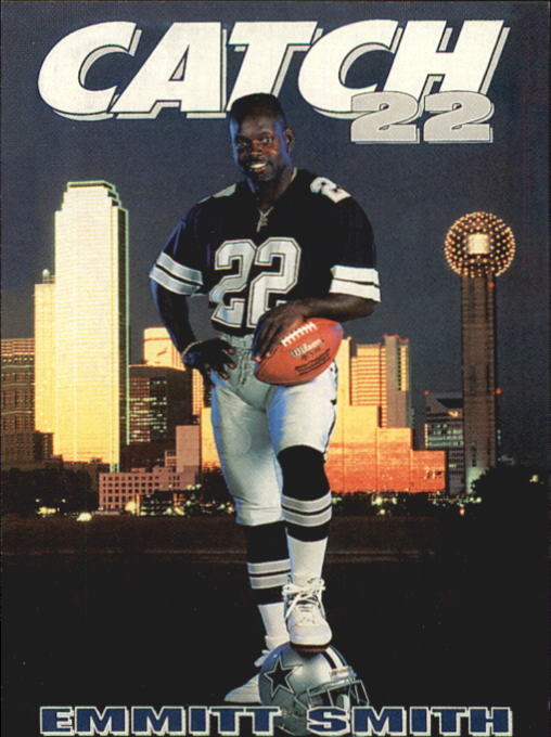 1992 SkyBox Prime Time #165 Emmitt Smith PC