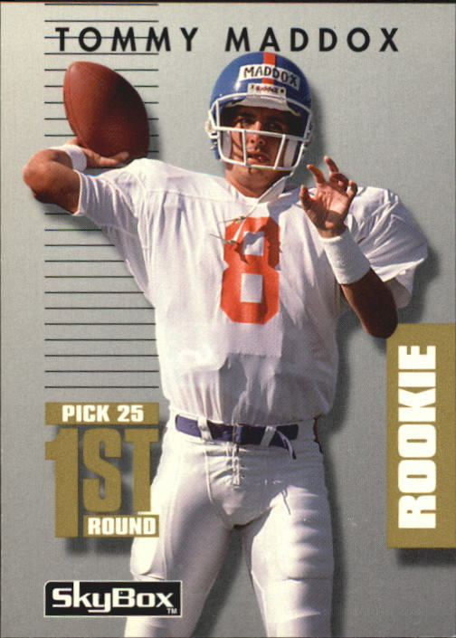 1992 SkyBox Prime Time #166 Tommy Maddox RC