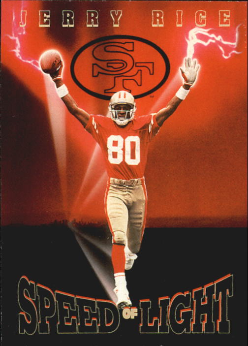 1992 SkyBox Prime Time #236 Jerry Rice PC