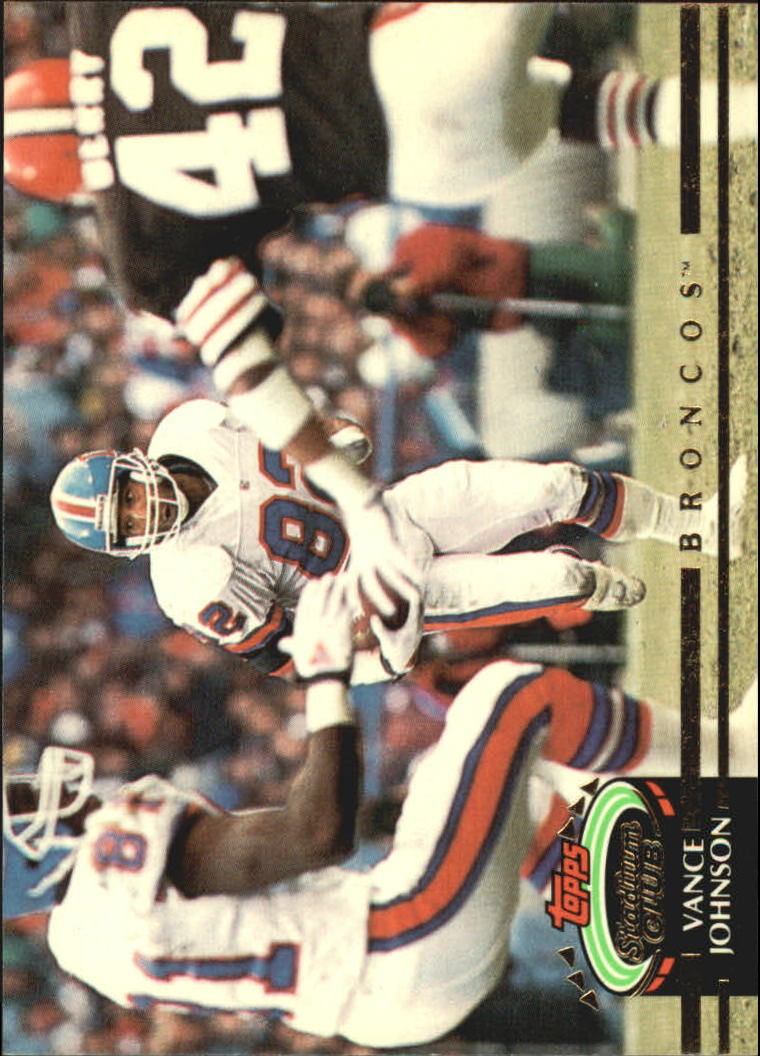1992 Stadium Club #4 Vance Johnson
