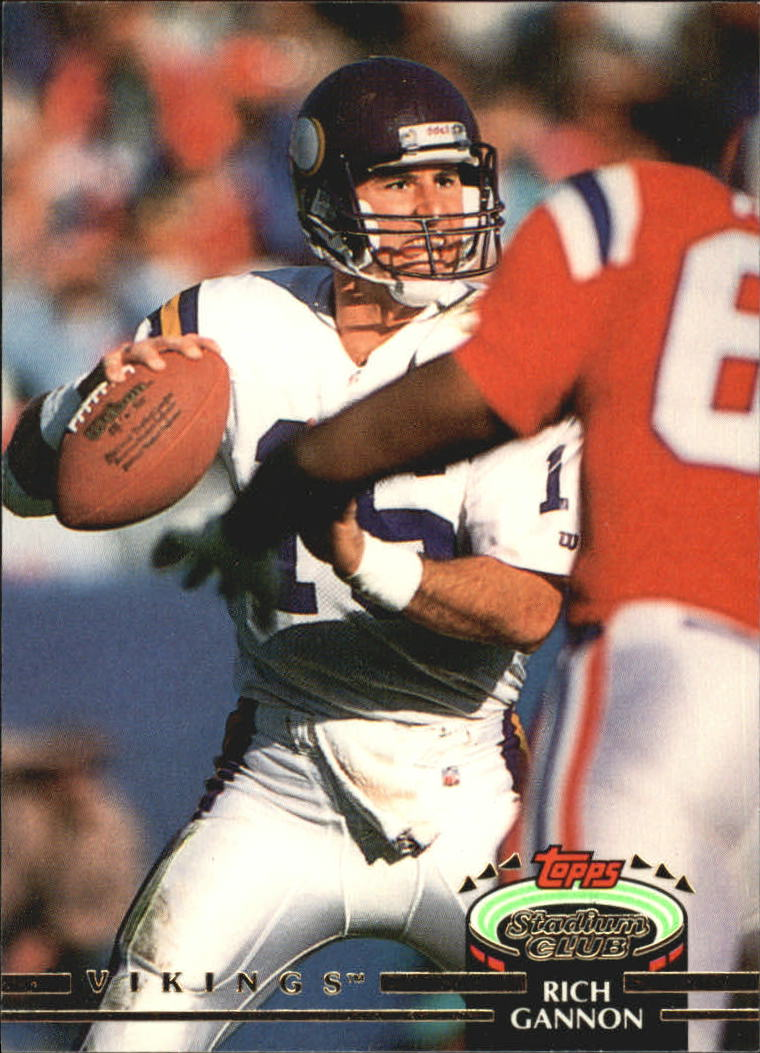 1992 Stadium Club #19 Rich Gannon
