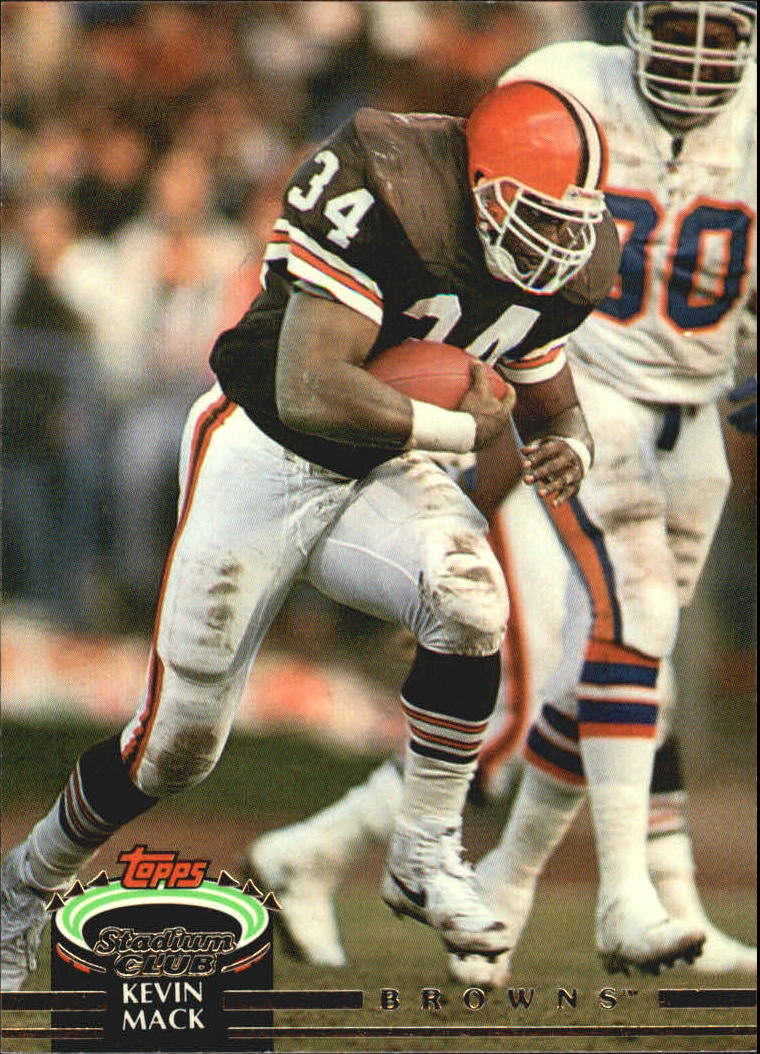 1992 Stadium Club #20 Kevin Mack