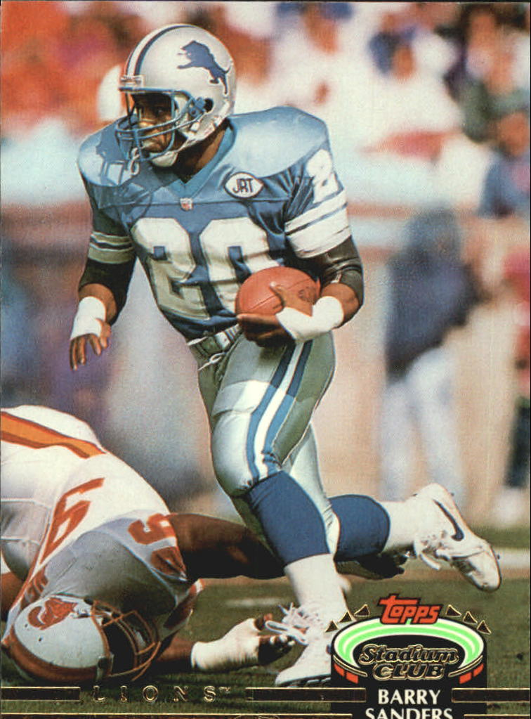 1992 Stadium Club #38 Barry Sanders