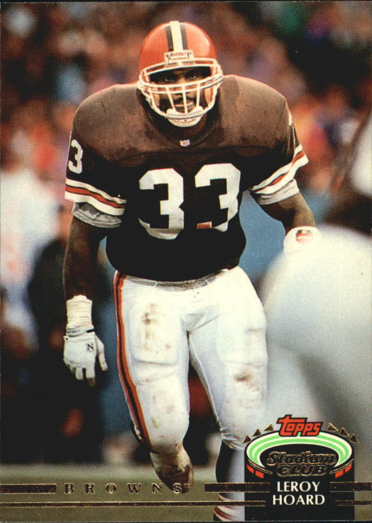 1992 Stadium Club #42 Leroy Hoard