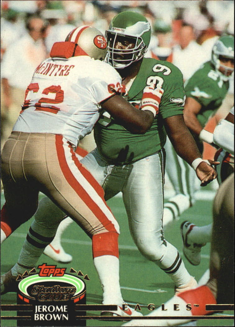 1992 Stadium Club #48 Jerome Brown