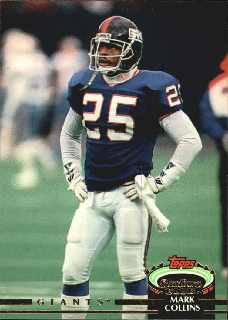 1992 Stadium Club #49 Mark Collins