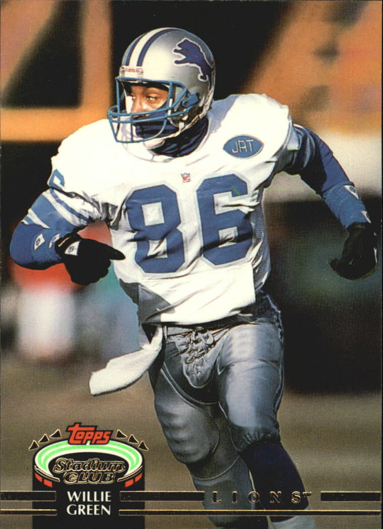 1992 Stadium Club #52 Willie Green