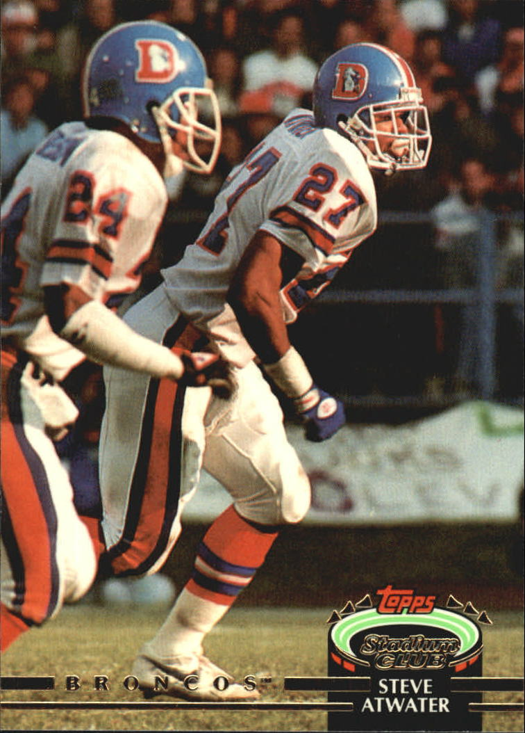 1992 Stadium Club #53 Steve Atwater