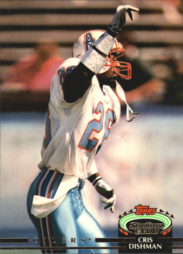 1992 Stadium Club #55 Cris Dishman