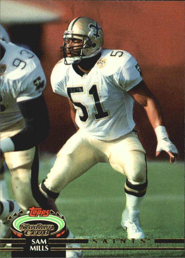 1992 Stadium Club #57 Sam Mills