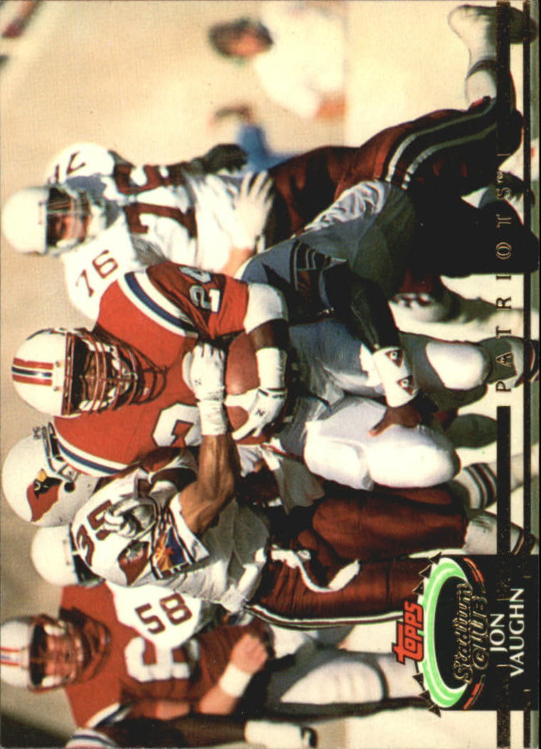 1992 Stadium Club #59 Jon Vaughn