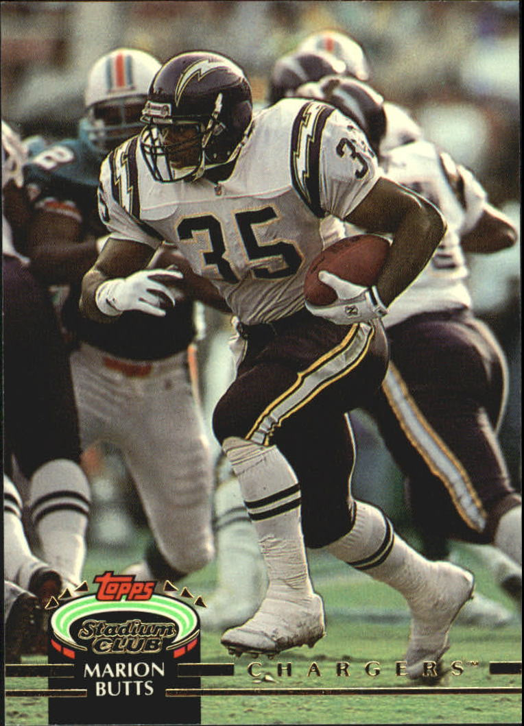 1992 Stadium Club #60 Marion Butts