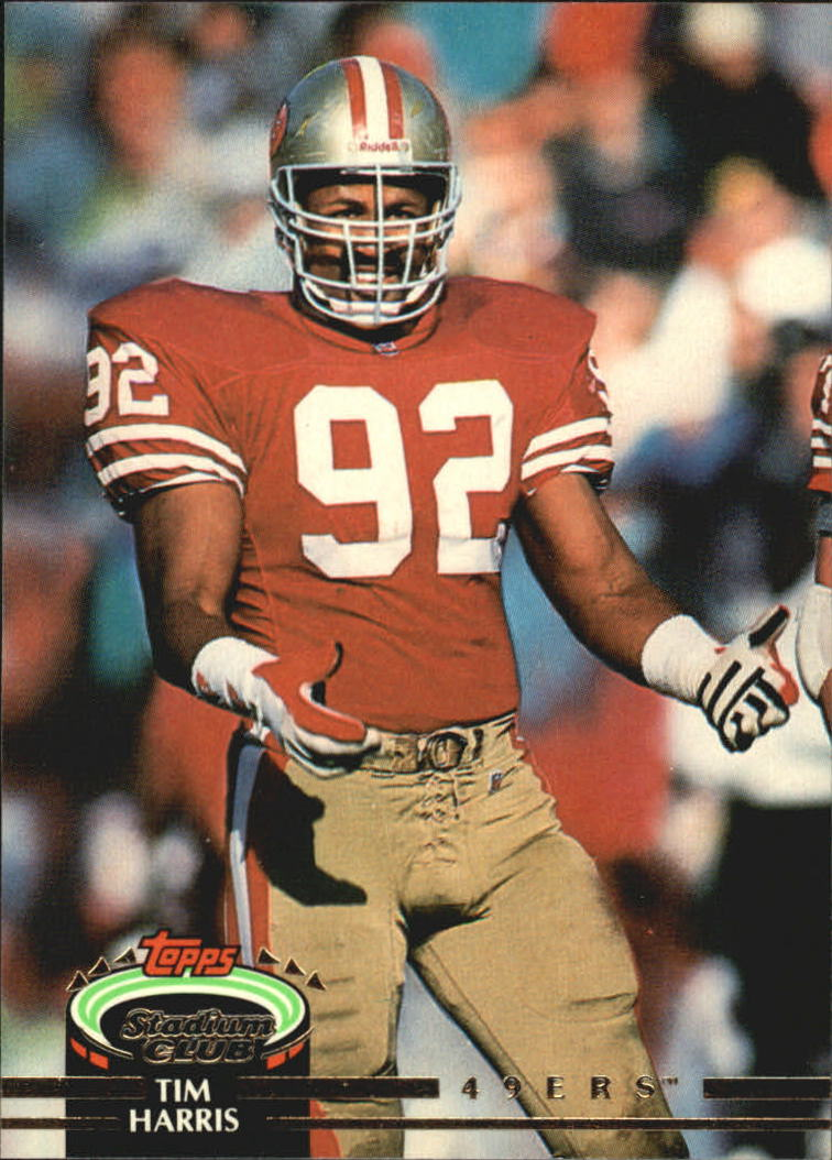 1992 Stadium Club #68 Tim Harris