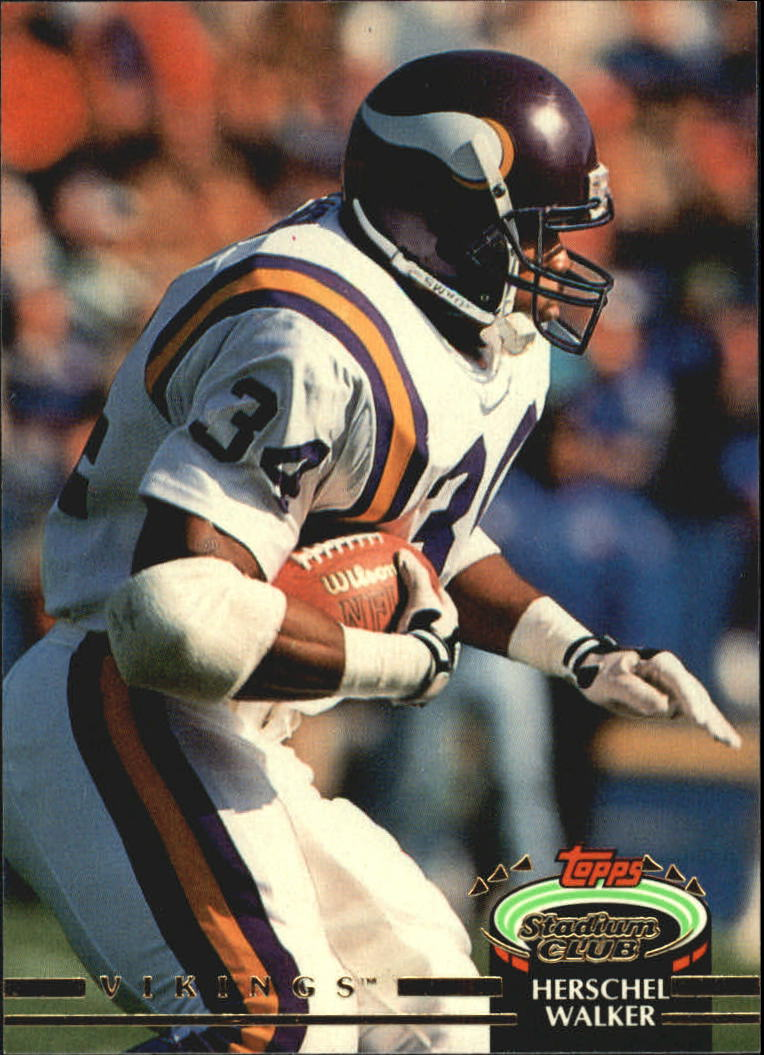 1992 Stadium Club #72 Herschel Walker
