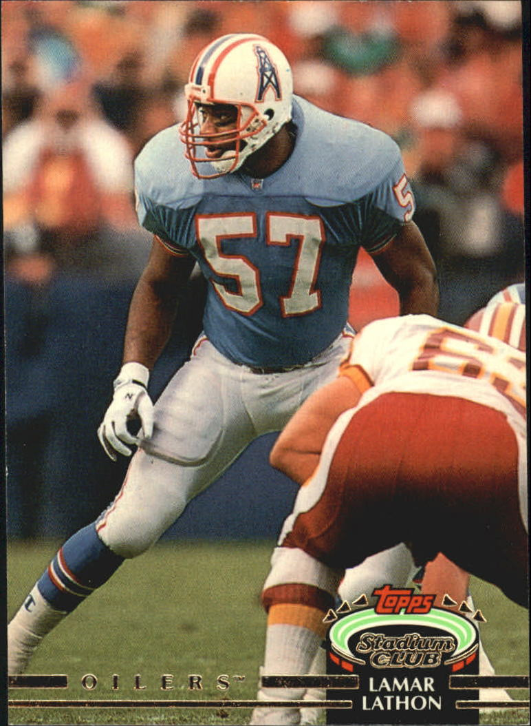 1992 Stadium Club #75 Lamar Lathon