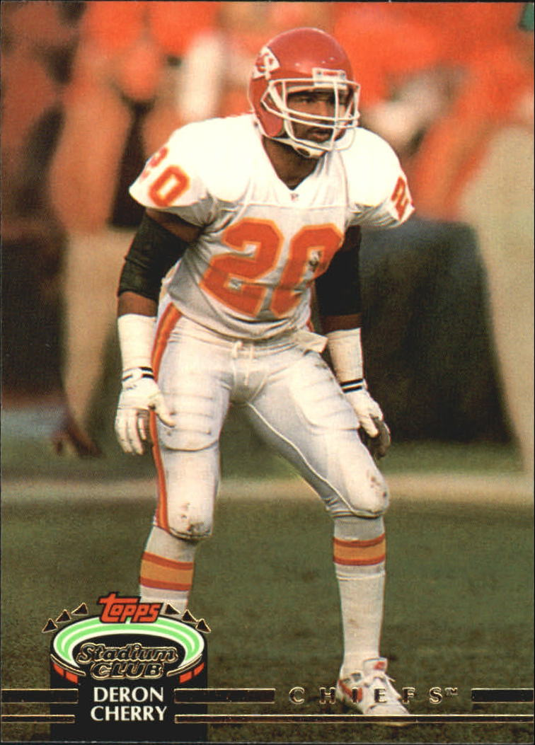 1992 Stadium Club #80 Deron Cherry