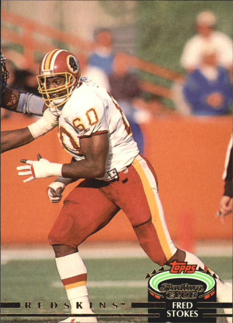 1992 Stadium Club #83 Fred Stokes