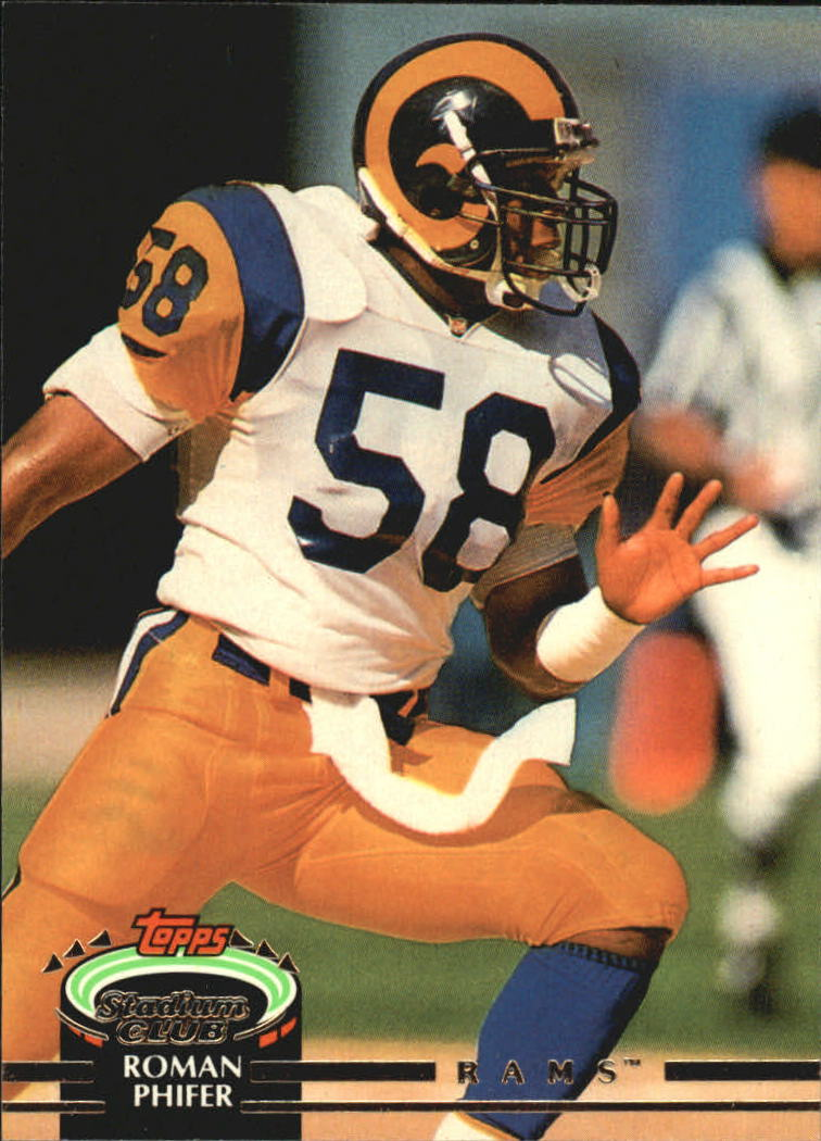 1992 Stadium Club #84 Roman Phifer