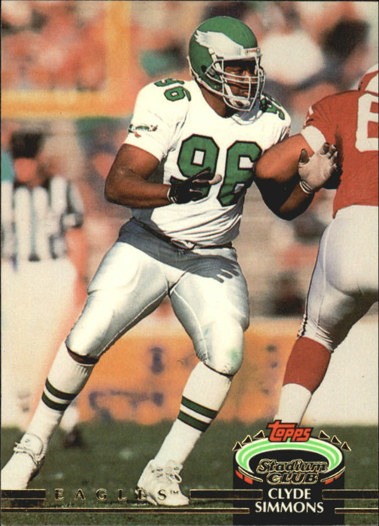 1992 Stadium Club #85 Clyde Simmons