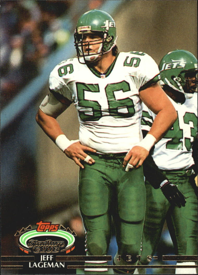 1992 Stadium Club #90 Jeff Lageman