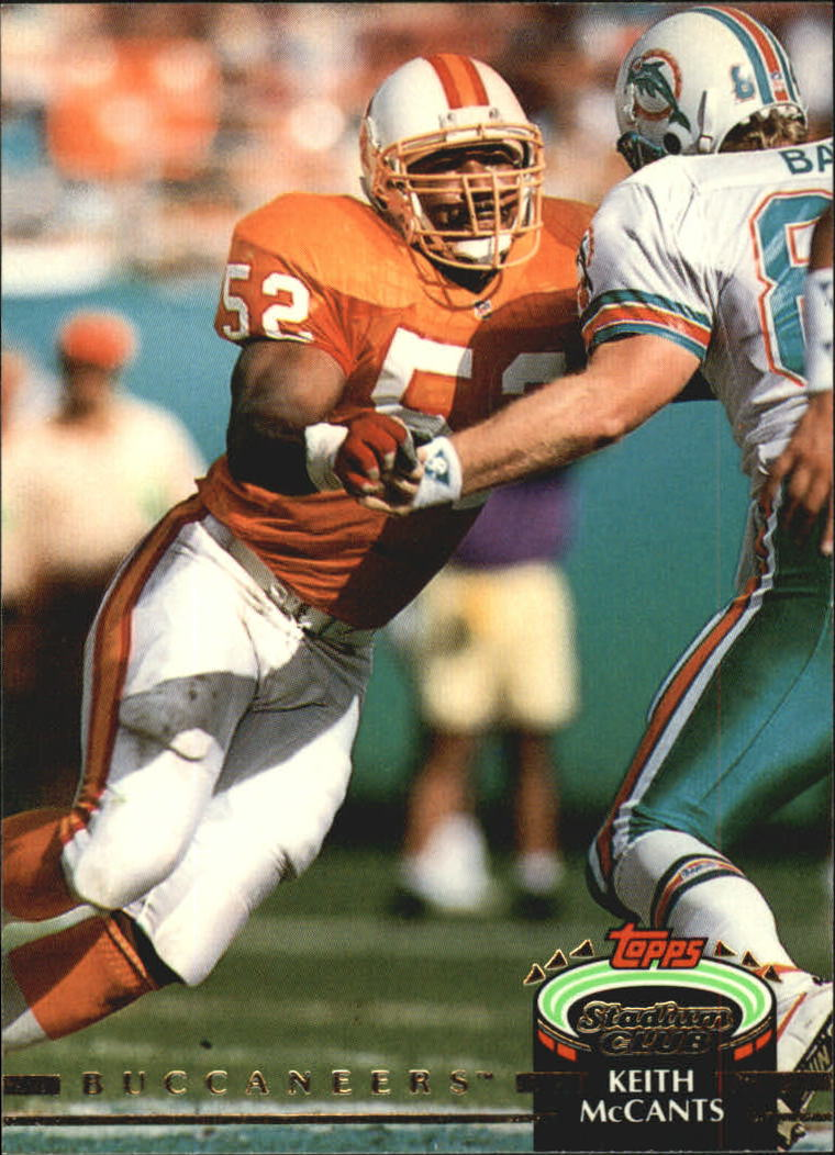 1992 Stadium Club #140 Keith McCants