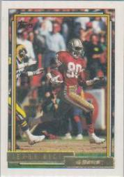 1992 Topps Gold #665 Jerry Rice