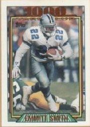 1992 Topps 1000 Yard Club #1 Emmitt Smith