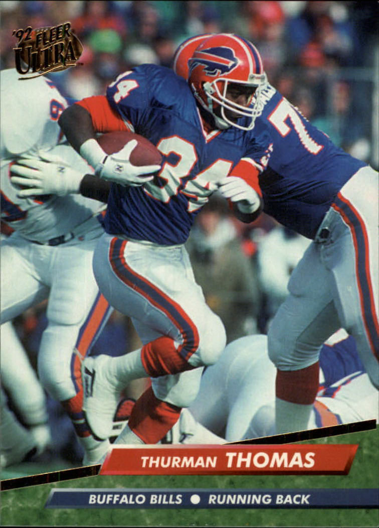 1992 Ultra #31 Thurman Thomas