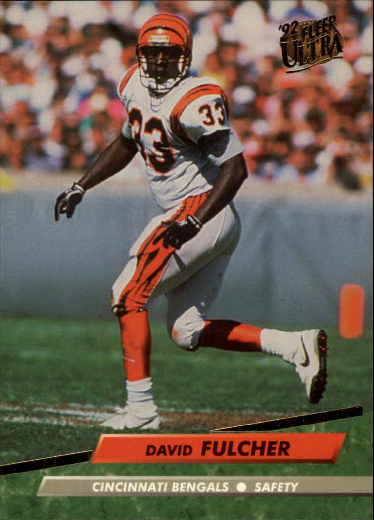 1992 Ultra #54 David Fulcher UER
