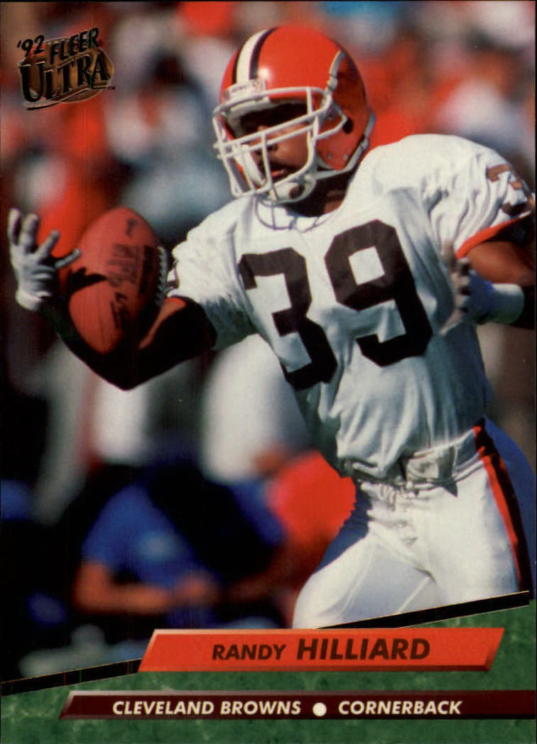 1992 Ultra #66 Randy Hilliard RC
