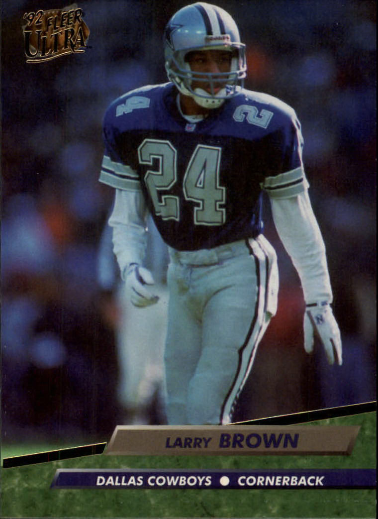 1992 Ultra #78 Larry Brown DB
