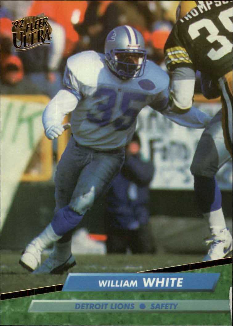 1992 Ultra #125 William White