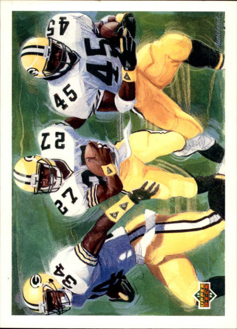 1992 Upper Deck #1 Bennett/Buckley/McNabb C