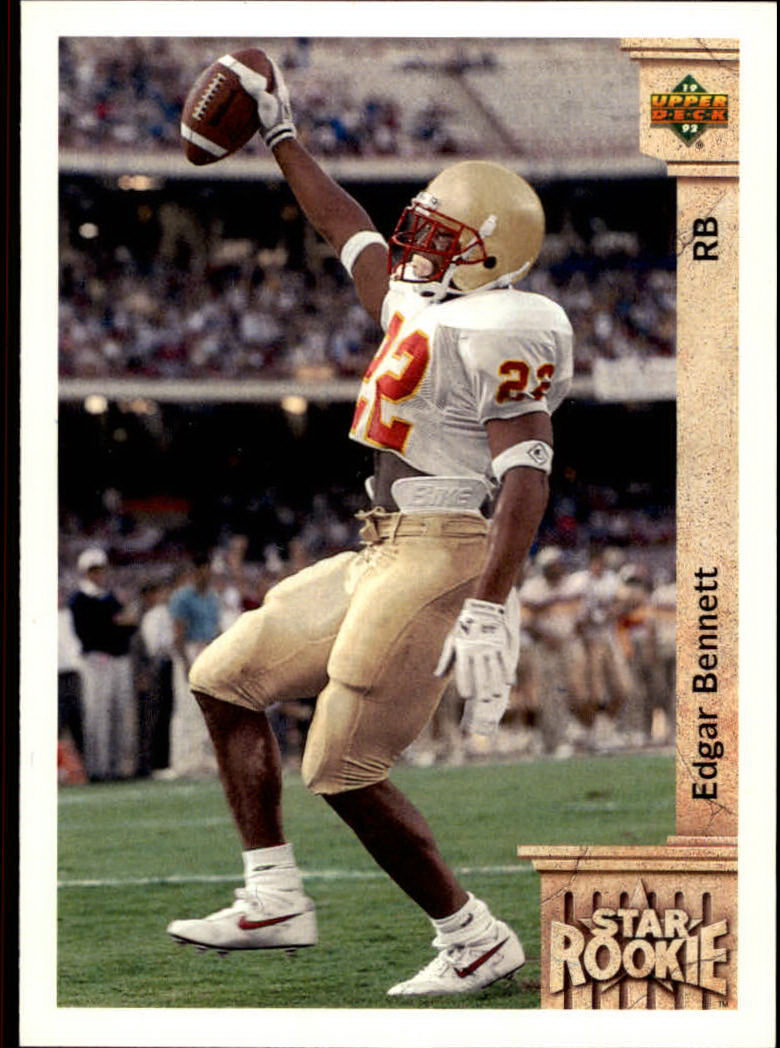 1992 Upper Deck #2 Edgar Bennett RC