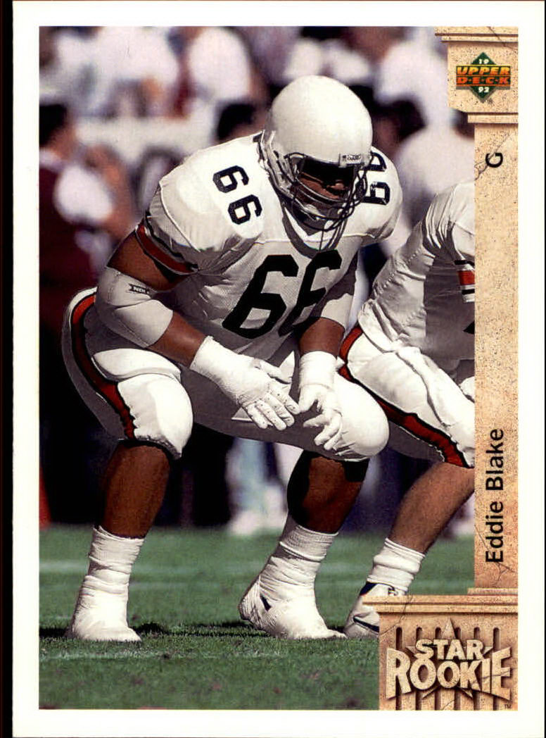 1992 Upper Deck #3 Eddie Blake RC