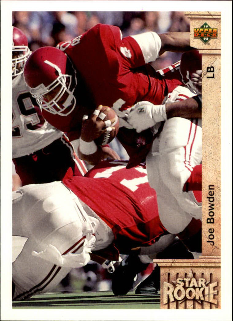 1992 Upper Deck #5 Joe Bowden RC