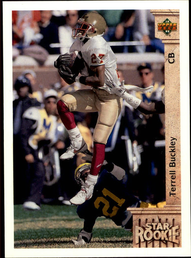 1992 Upper Deck #6 Terrell Buckley RC